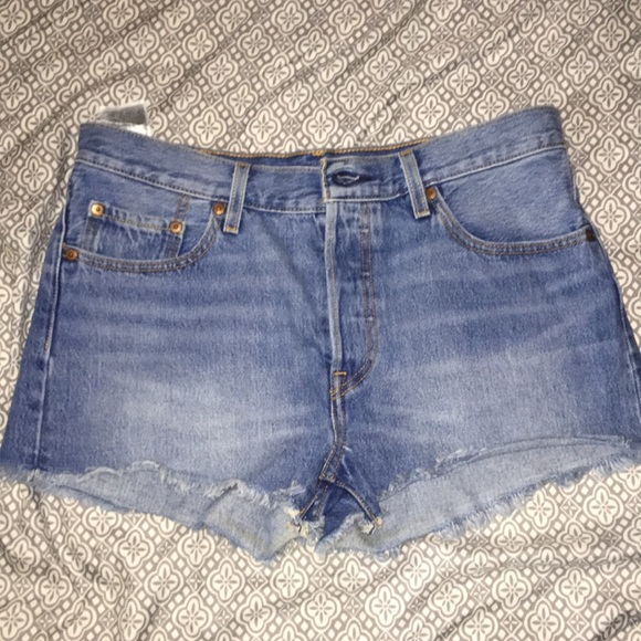 Levi's Pants - Levi 501 cutoffs.